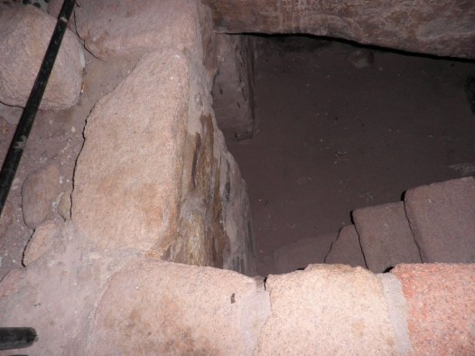 Cave where Moses fasted for 40 days, Mount Sinai, Jebel Musa, also Elijah's cave, 19