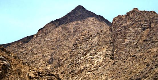Jebel al-Lawz, Mount Paran