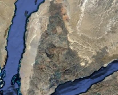 Portrait of Moses in the Sinai Peninsula